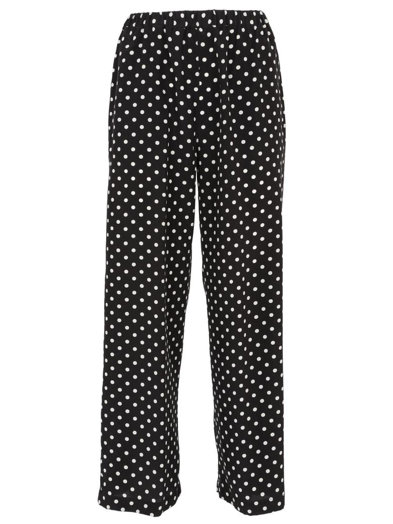 Aspesi Polka Dot Trousers - Black/White