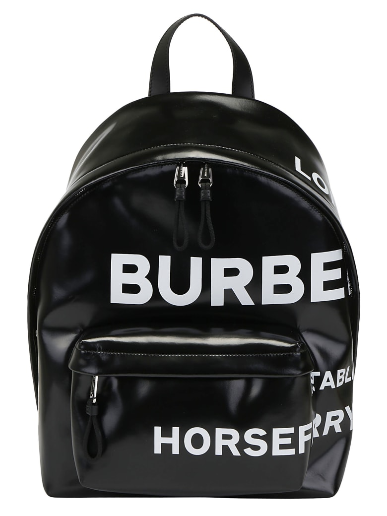Burberry Jett Backpack - Black/white
