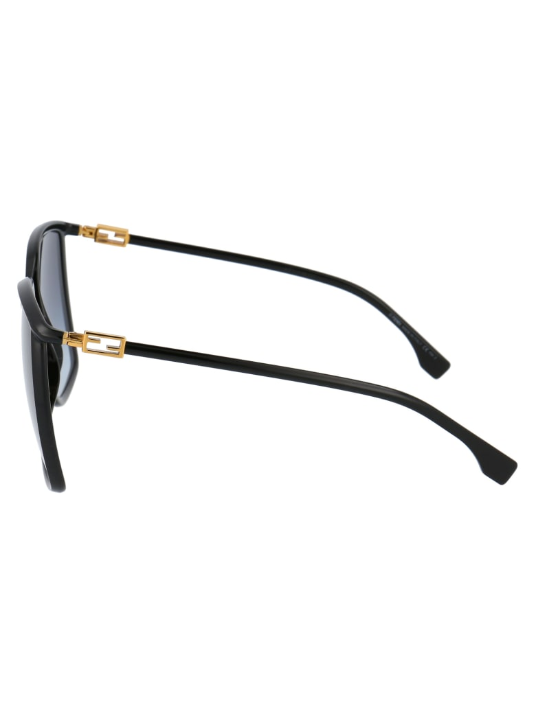 Fendi Ff 0431/g/s Sunglasses - 807GB BLACK