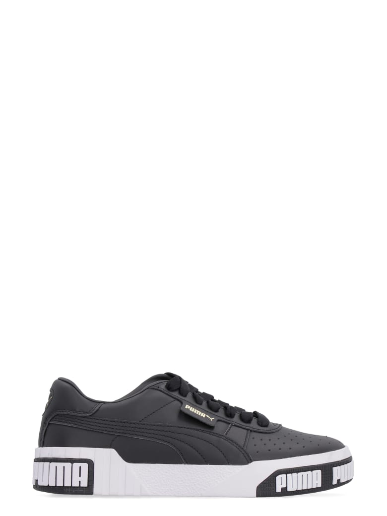 Best price on the market at italist | Puma Puma Cali Bold Leather Sneakers