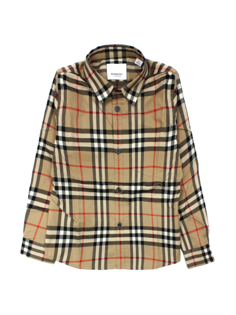 Burberry Vintage Check Cotton Shirt - Check