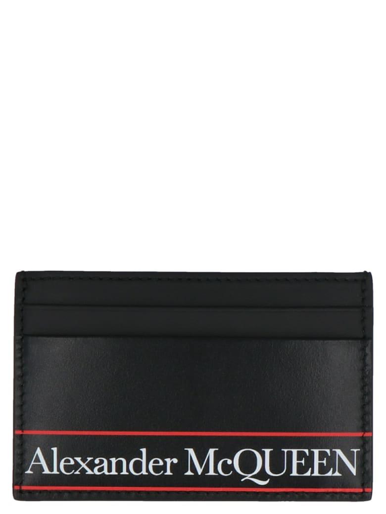 Alexander McQueen Cardholder - Black/red