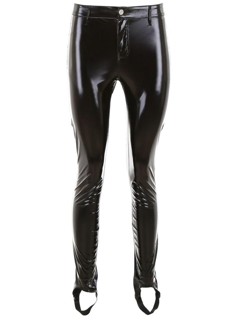 RTA Vinyl Trousers - BLACK (Black)