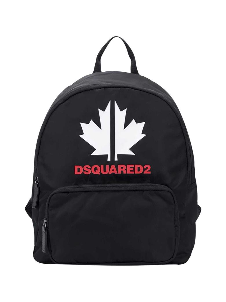 Dsquared2 Black Backpack - Nero