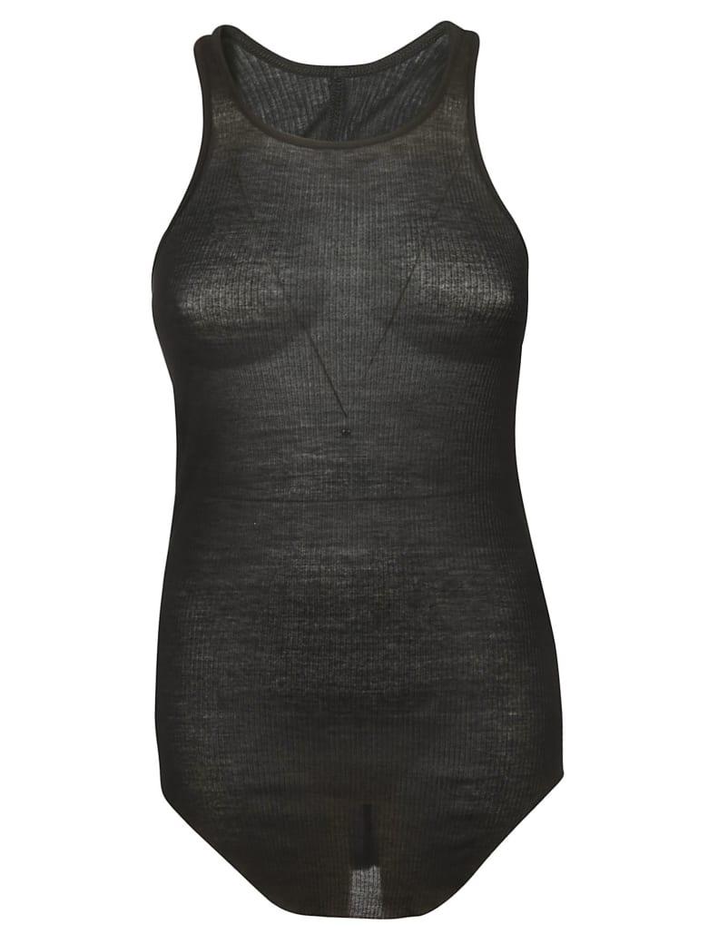 Rick Owens Slim Fit Tank Top - black