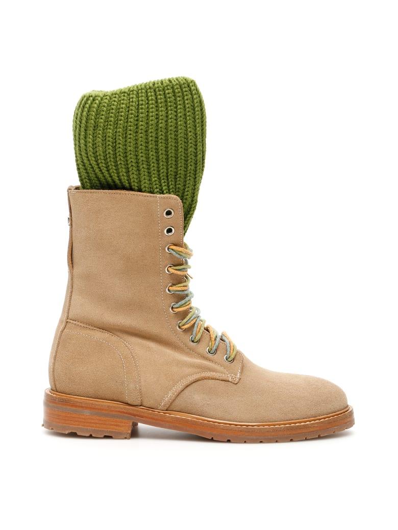 Dawni Sock Boots - BEIGE (Beige)