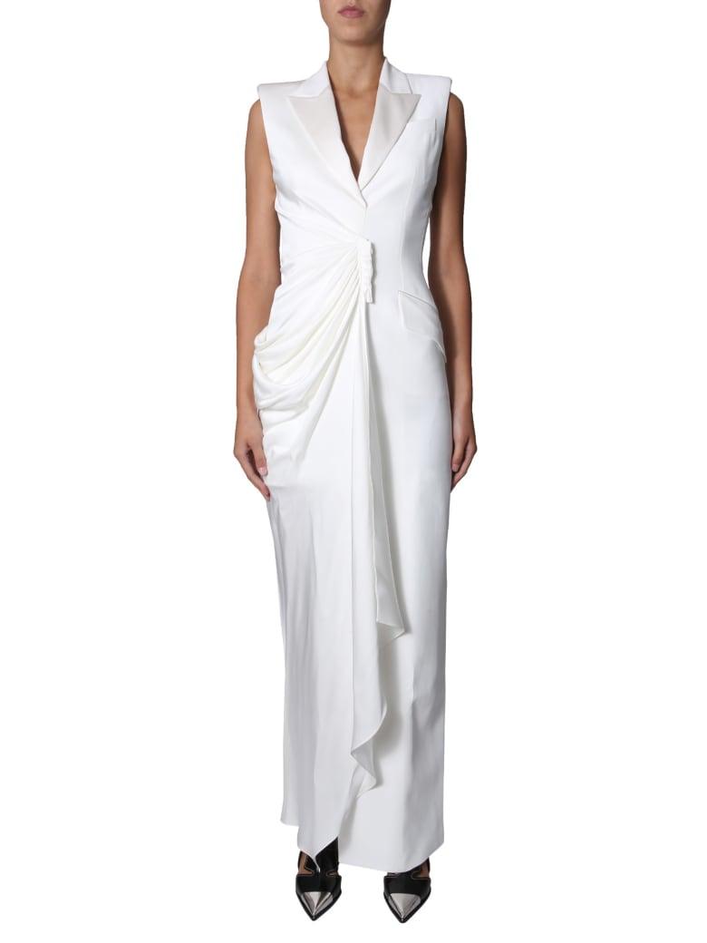 Alexander McQueen Long Dress - BIANCO