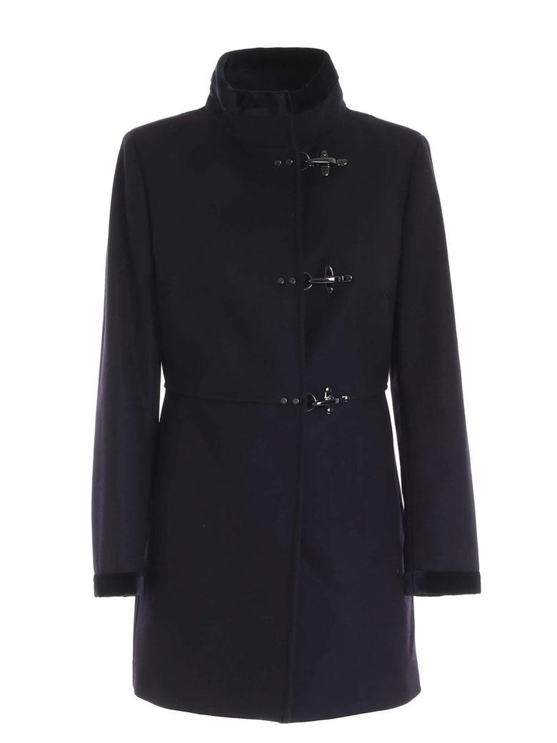 Fay Coat - Blue