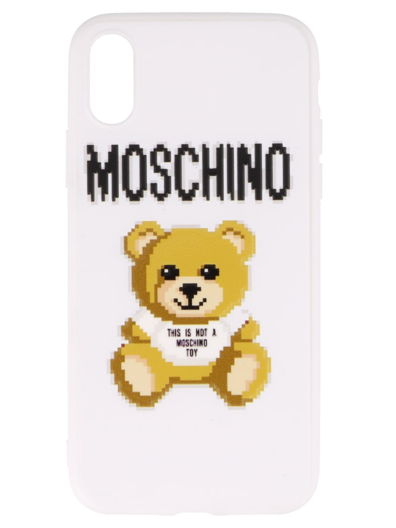 Moschino Pixel Capsule Iphone Xs/x Cover - White