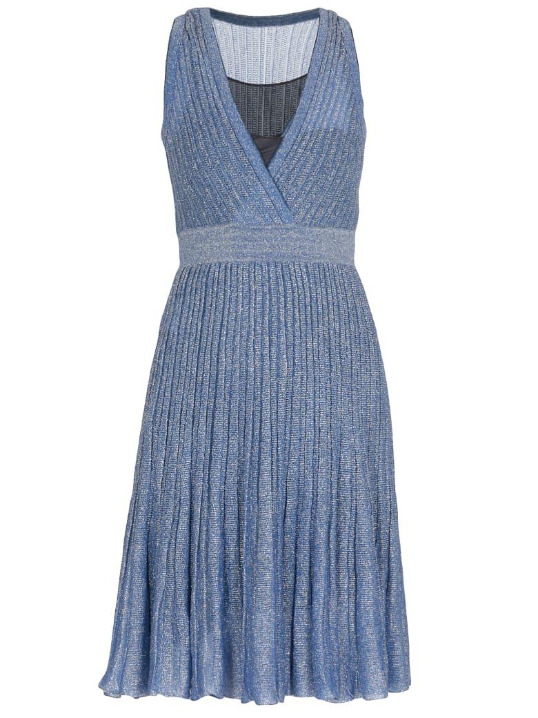 Missoni Lurex Dress - BLUE
