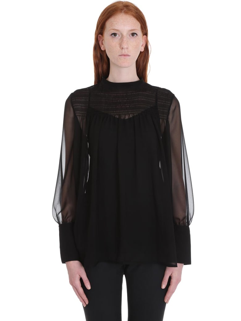 Neil Barrett Shirt In Black Cotton - black