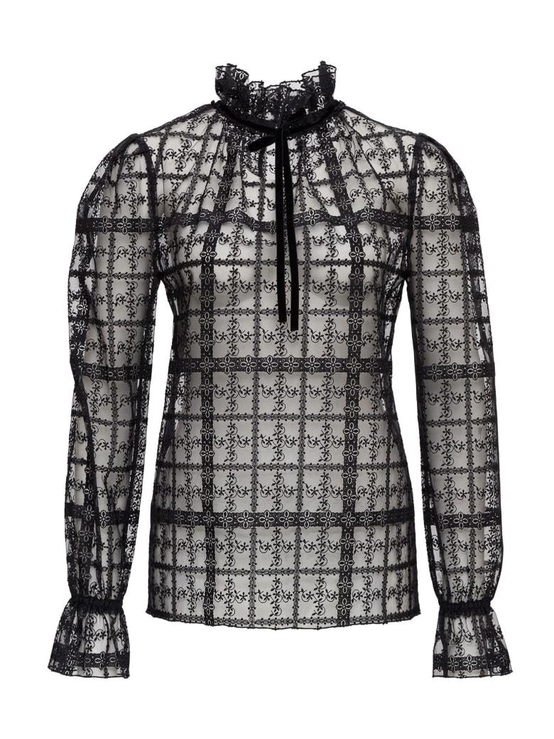 Philosophy di Lorenzo Serafini Embroidered Shirt - Black
