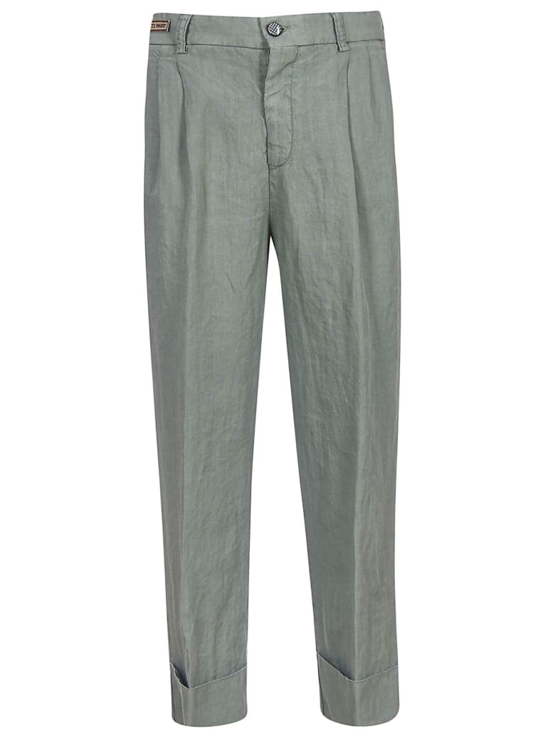 Berwich Cropped Trousers - Grey