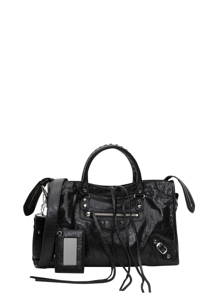 Balenciaga Claasic Mini City S Bag - Nero