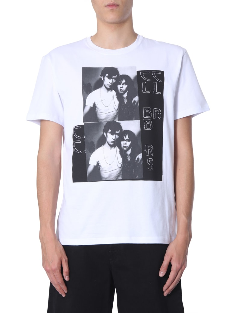Raf Simons Round Neck T-shirt - BIANCO