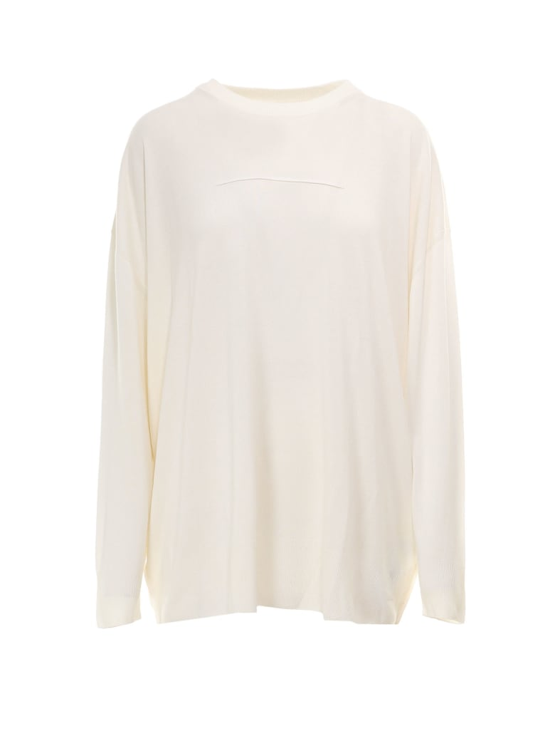 MM6 Maison Margiela Sweater - White