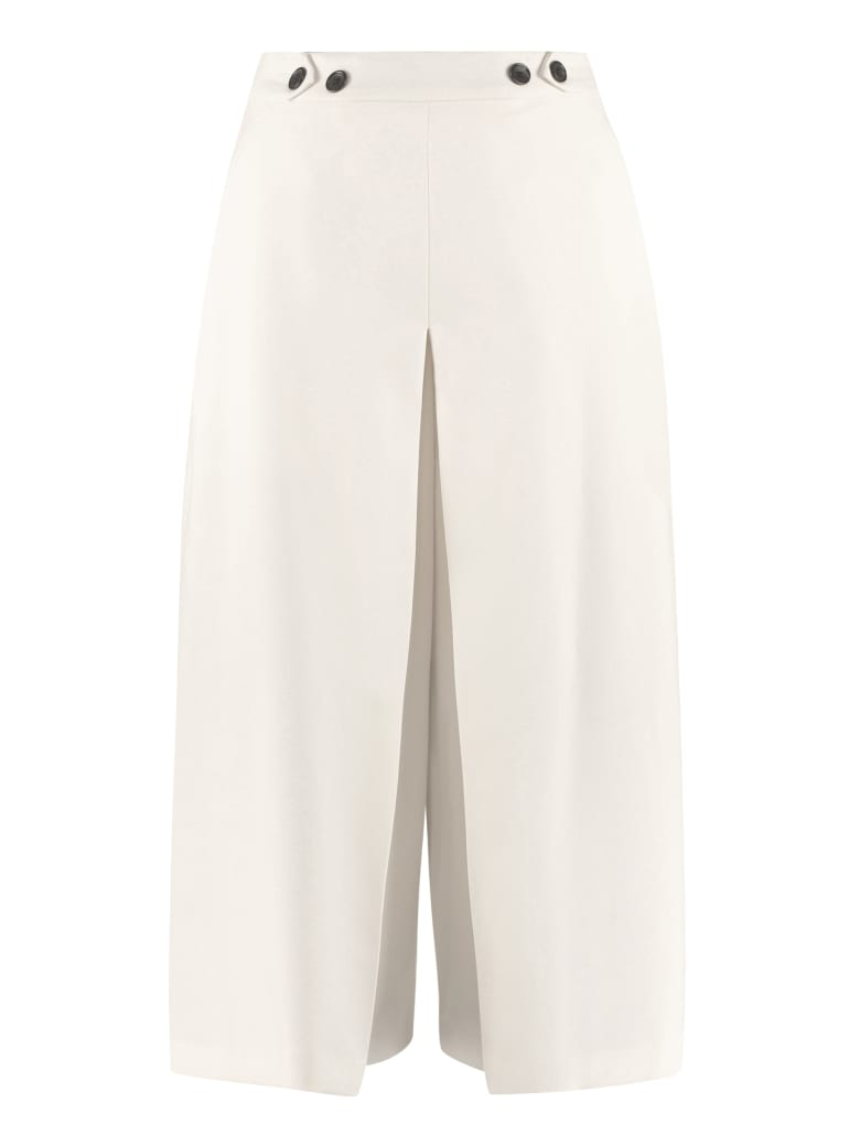 Department 5 High-waist Culotte-pants Department 5 - CREAM