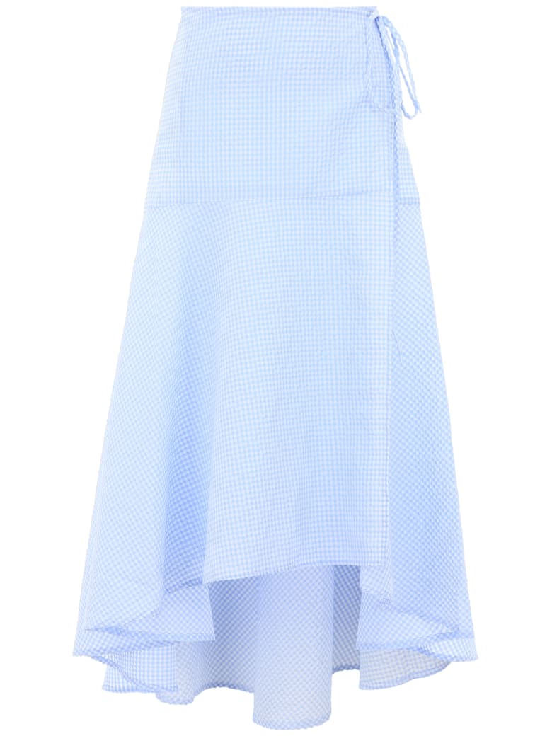 Ganni Charron Skirt - SERENITY BLUE (Light blue)