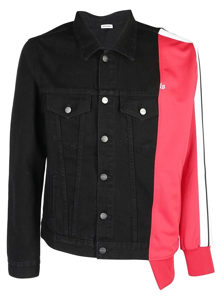 Palm Angels Bold Track Trcker Jacket - Black wash