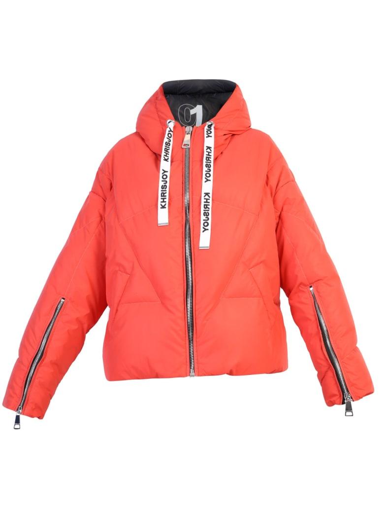 Khrisjoy Padded Jacket - Red