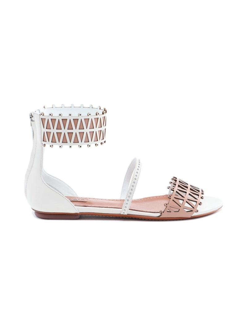 Alaia Sandal - Blanc