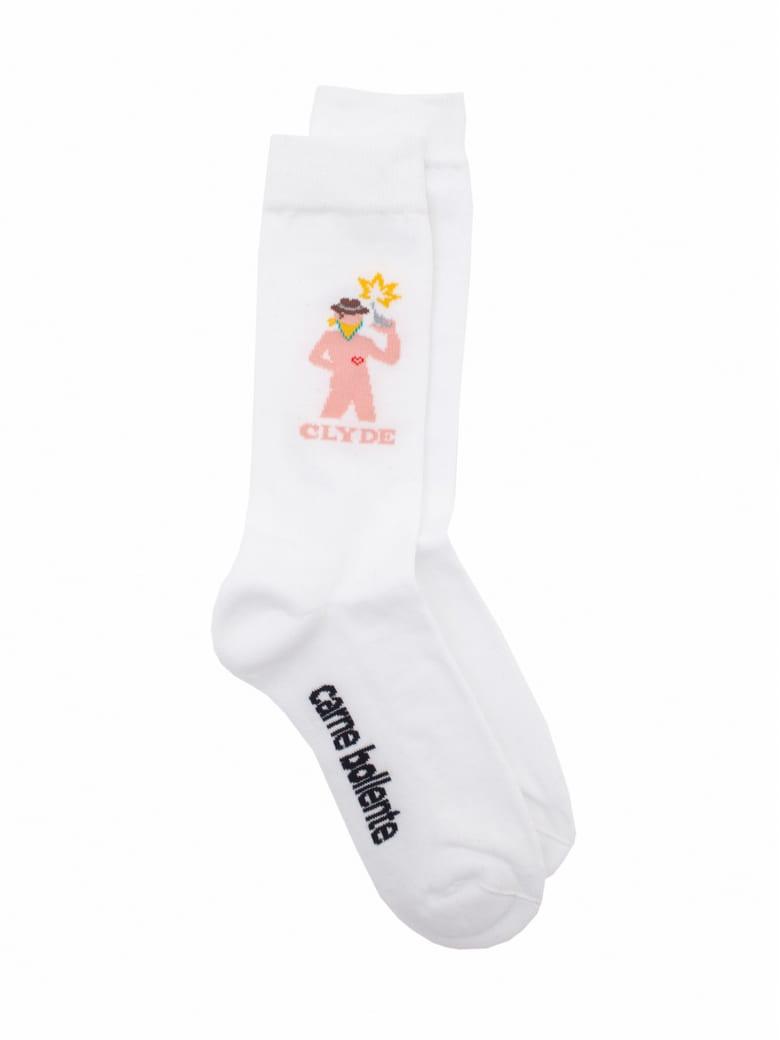 Carne Bollente Socks - White
