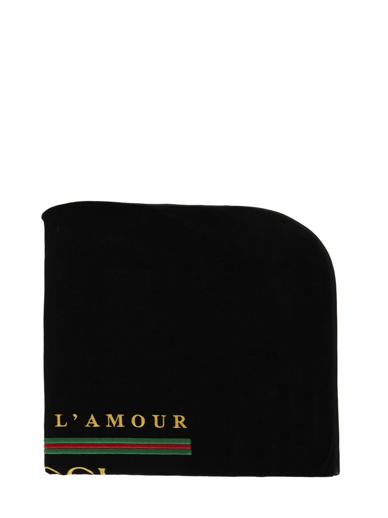 Gucci Junior Blanket - Black