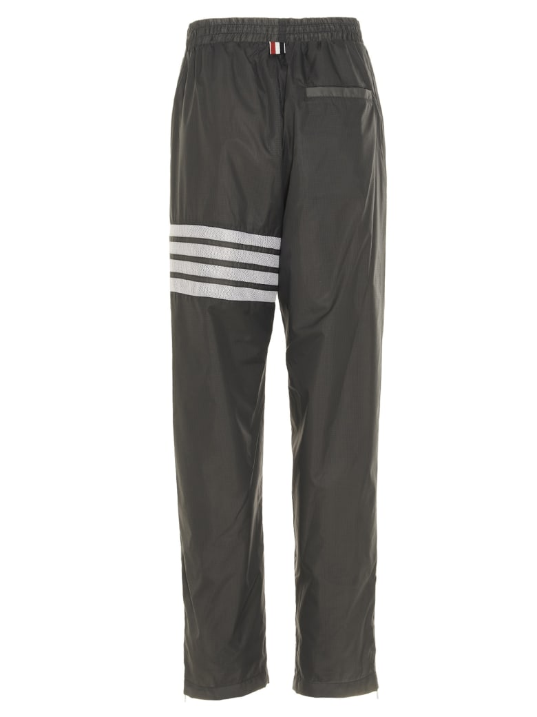 Thom Browne '4 Bar' Pants - Silver