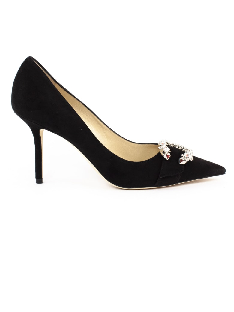 Jimmy Choo Black Suede Pumps - Nero