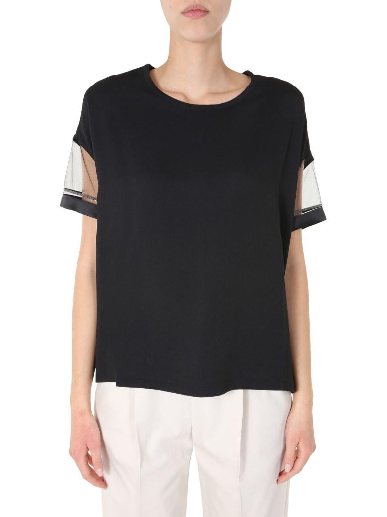 Fabiana Filippi Round Neck T-shirt - NERO