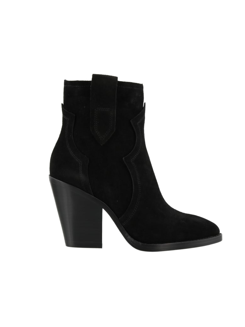 Ash Esquire Ankle Boot - Black