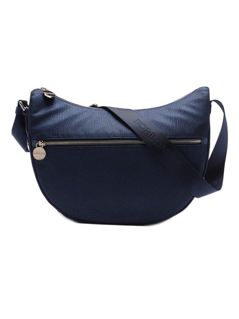Borbonese Luna Bag Middle - Blu