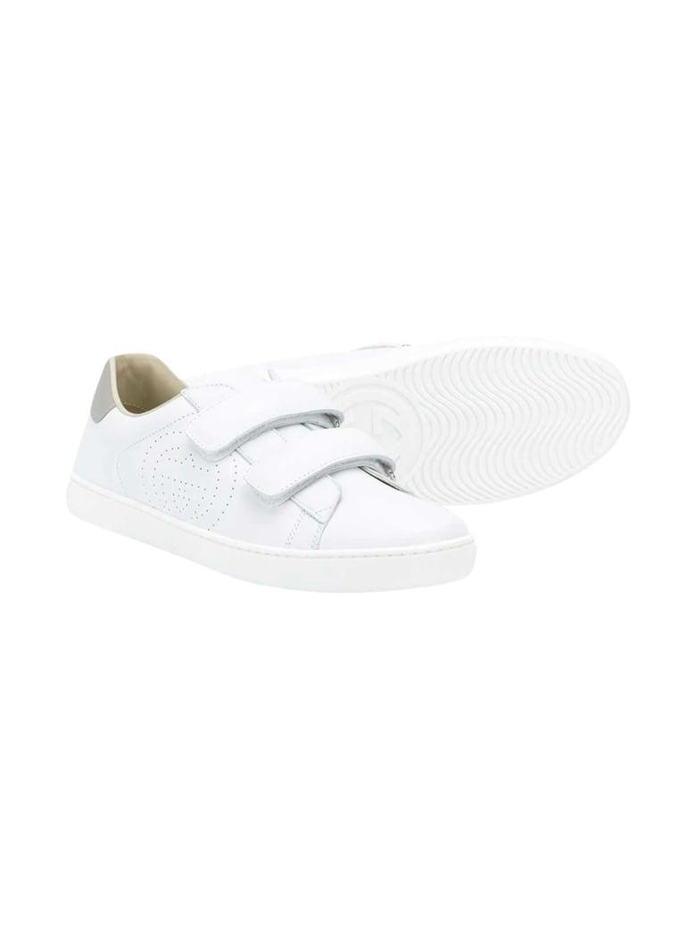 Gucci White Sneakers - Bianco/grigio