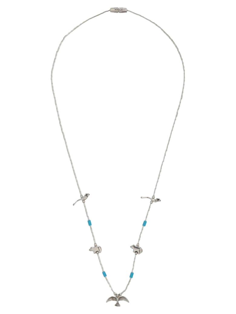 Jessie Western Necklace - Silver