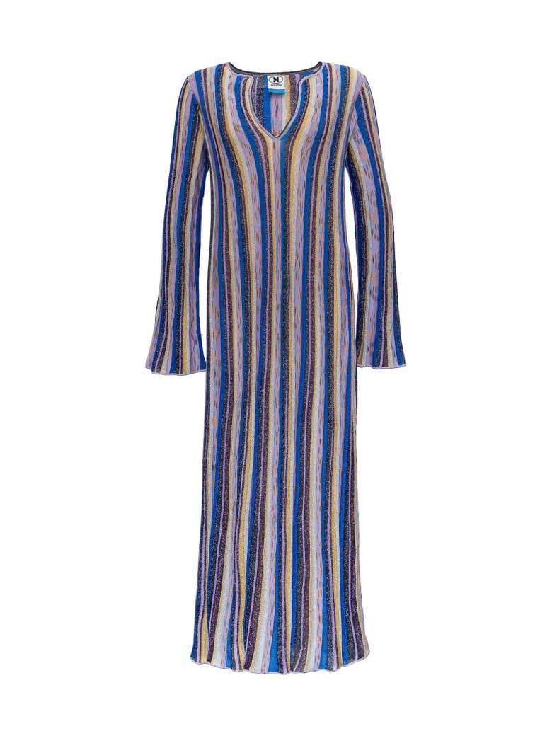 M Missoni Long Lurex Dress - Multicolor
