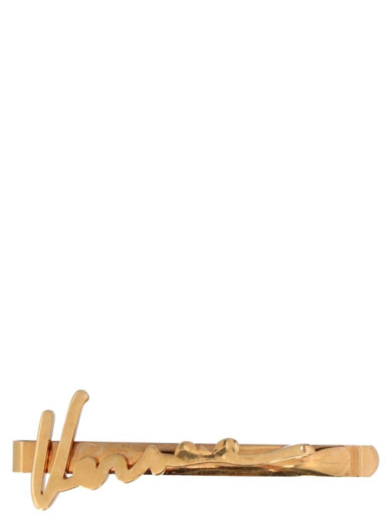 Versace 'versace' Hair Pin - Gold