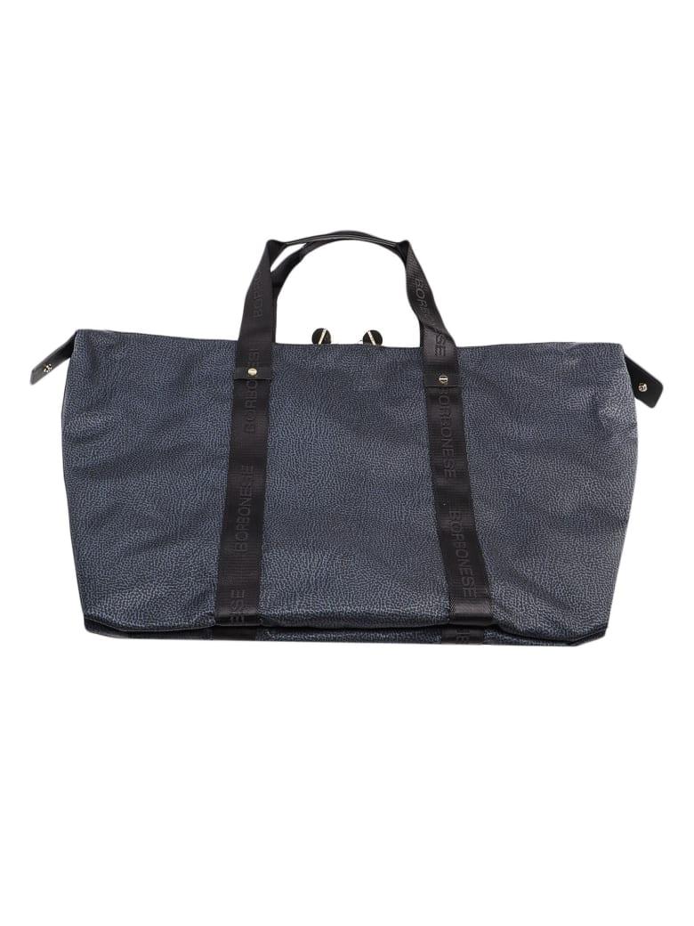 Borbonese Md Duffle Bag - Nero