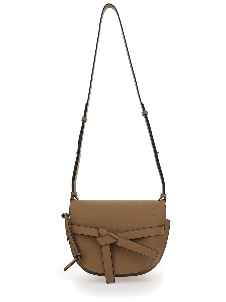 Loewe Gate Small Shoulder Bag - Oak