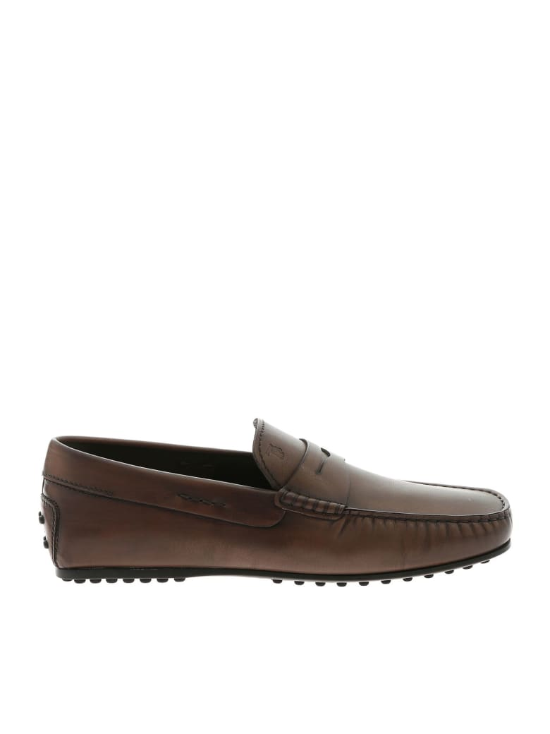 Tod's City Gommino Loafers - Brown