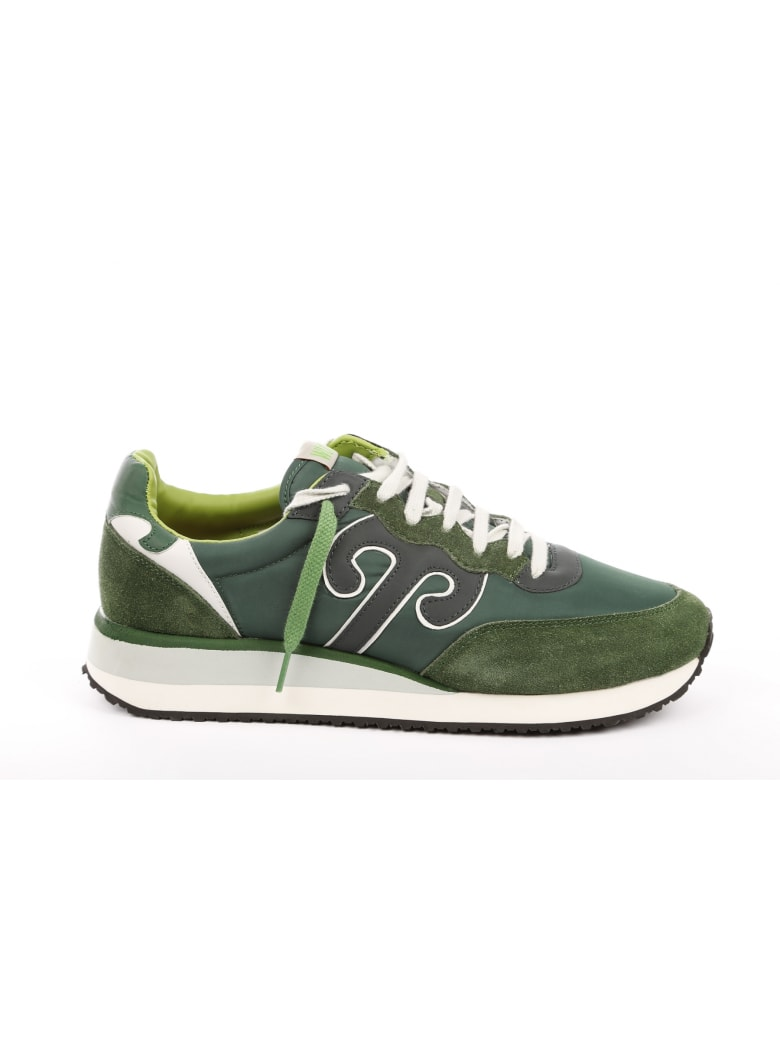 Wushu Ruyi Leather Sneaker - Green