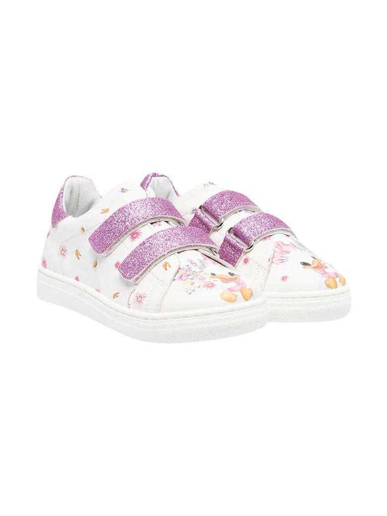 Monnalisa White Sneakers - Unica