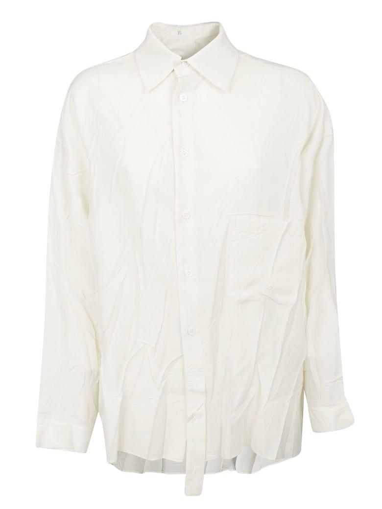 Y's Wrinkled Shirt - Ivory