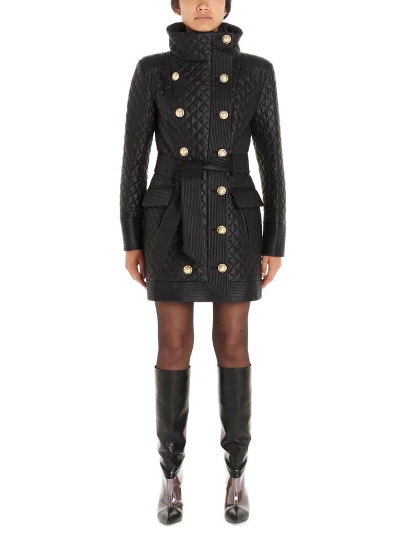Balmain Coat - Black