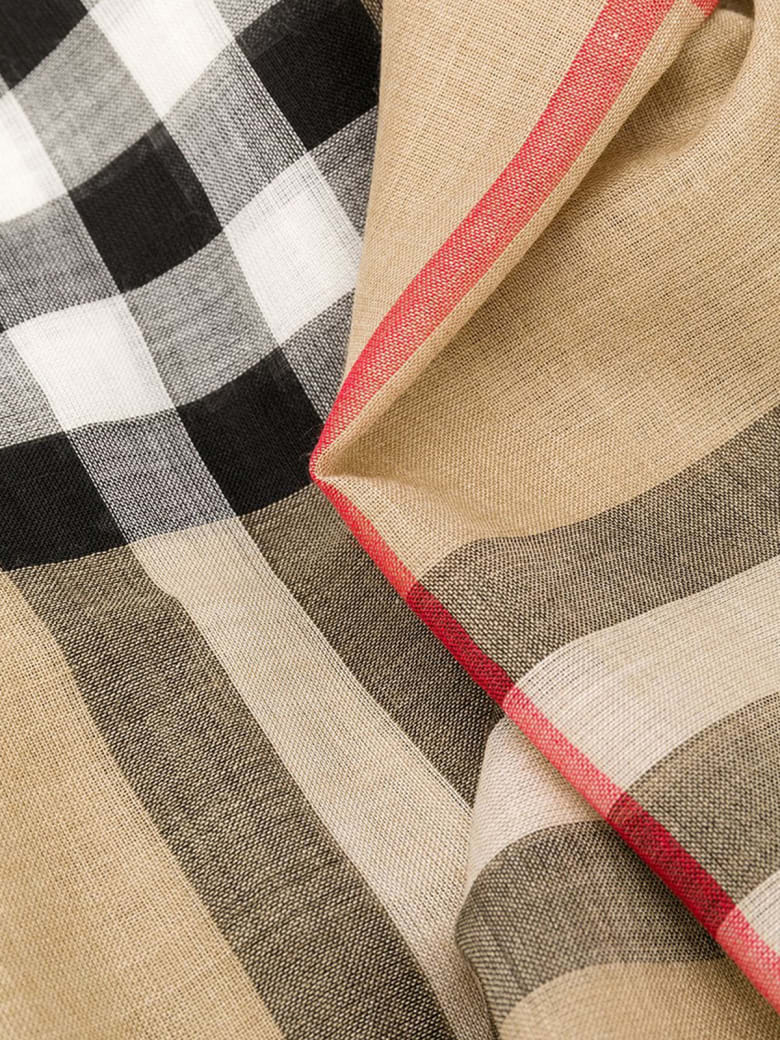 Burberry Giant Check Gauze - Archive Beige
