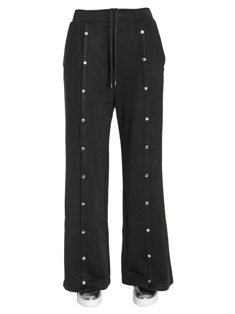 T by Alexander Wang Wide Trousers - NERO