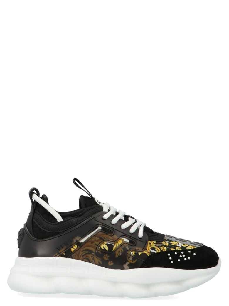 Young Versace 'chain Reaction' Shoes - Multicolor