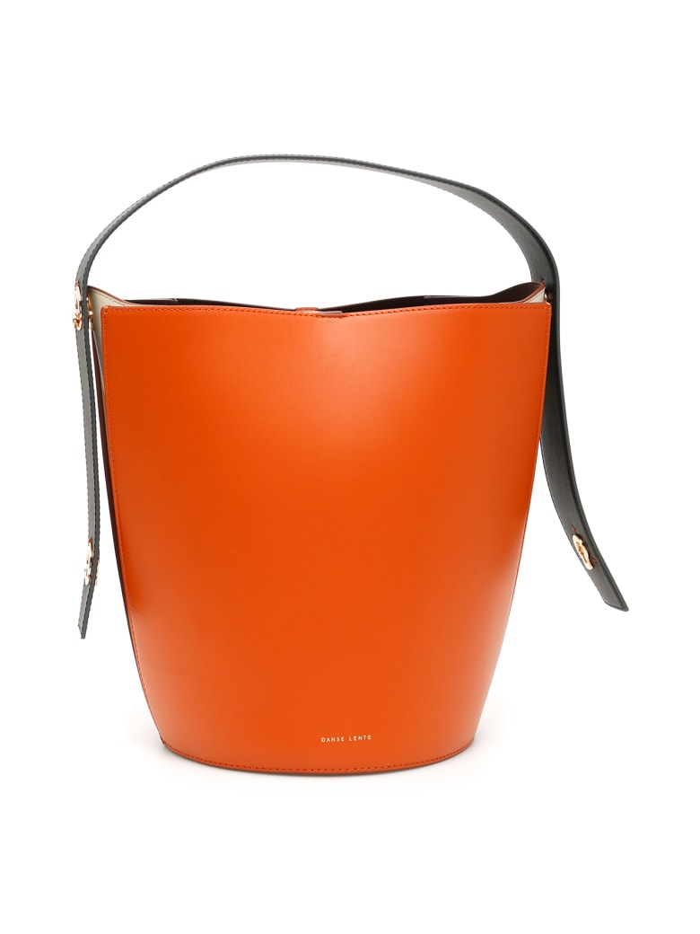 DANSE LENTE Mini Lorna Bucket Bag - FIRE (Orange)