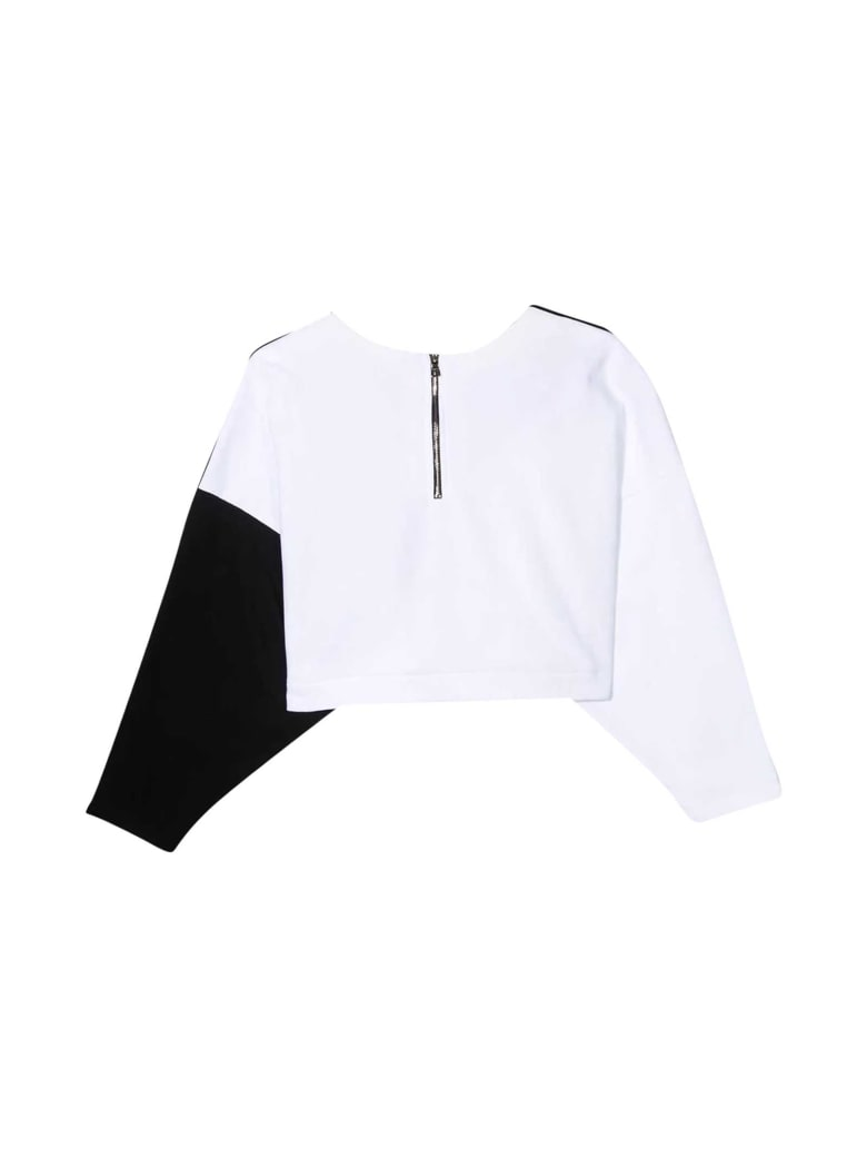 Balmain Two-tone Sweatshirt - Bianco