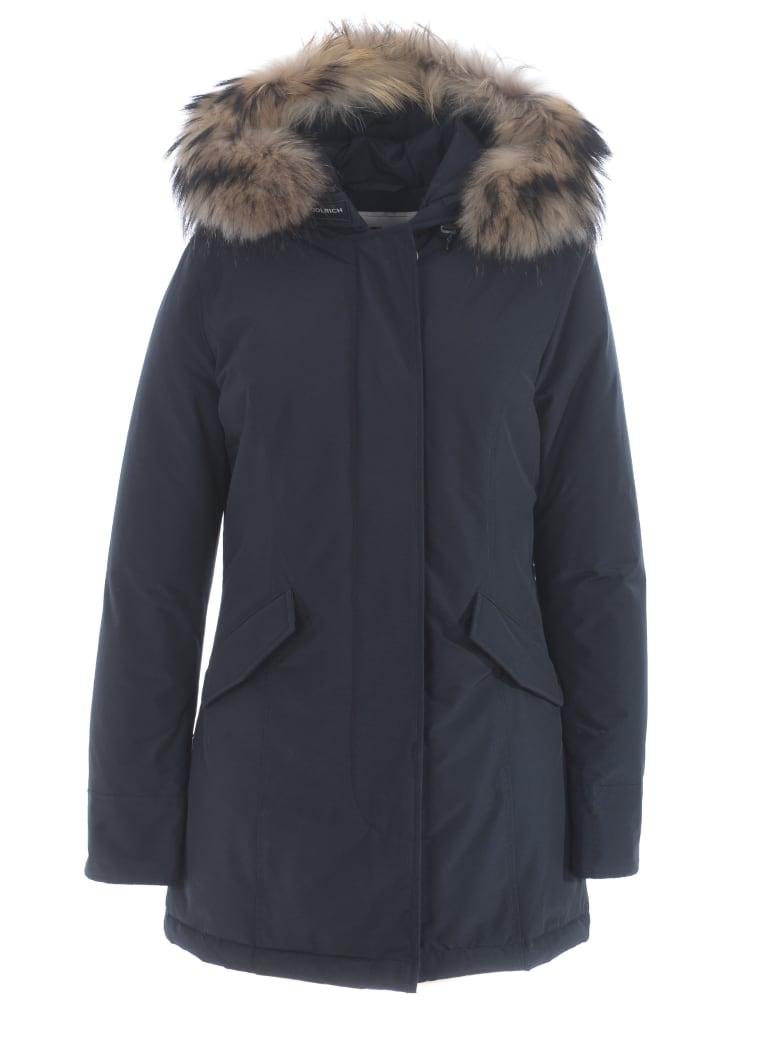 Woolrich Coat - Blu scuro