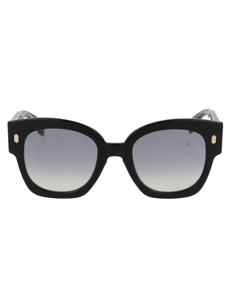 Fendi Ff 0458/g/s Sunglasses - 8079O BLACK